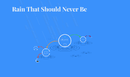 Rain That Should Never be
