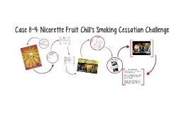 Case 8-3: Nicorette Cessation Challenge