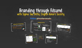 Branding through Résumé Workshop