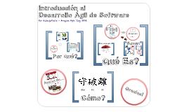 Introducción al Desarrollo Ágil de Software