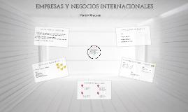 EMPRESAS Y NEGOCIOS INTERNACIONALES