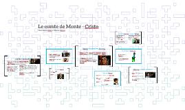 Le comte de Monte - Cristo