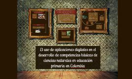 Aplicaciones digitales en el desarrollo de competencias bási