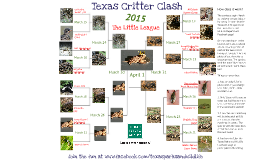 Texas Parks & Wildlife's Texas Critter Clash 2015 - Little League Edition