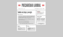 PRECARIEDAD LABORAL