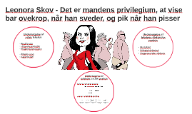Leonora Skov - Det er mandens privilegium, at vise bar ovekr