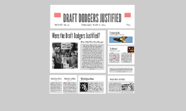 Copy of Draft Dodgers Were Justified