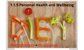 Copy of Copy of 1.1.5 Personal health and well being