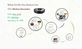 What Do We Use Robots For