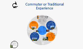 Looking for Commuter or Traditional Experience