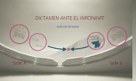 DICTAMEN ANTE EL INFONAVIT