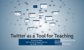 Twitter as a Tool for Teaching