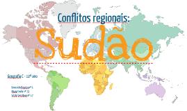 Sudão - conflitos regionais
