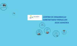 Copy of CENTRO DE DESARROLLO COMUNITARIO VERSALLES