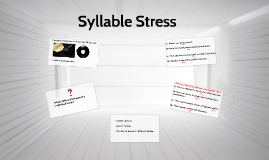 Syllable Stress (A03)