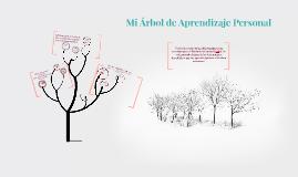 Mi Árbol de Aprendizaje Personal