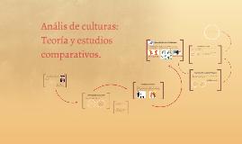 Anális de culturas: