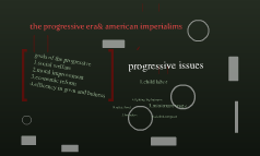 the progressive era& american imperialims