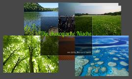 Die ökologische Nische