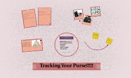 Tracking Your Purse