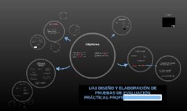 UA3 DISEÑO Y ELABORACIÓN DE PRUEBAS DE EVALUACIÓN