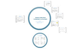 (Satellite) Sensor Calibration