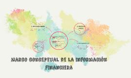 Marco conceptual de la información financiera