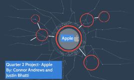 Quarter 2 Project- Apple