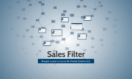 Sales Filter