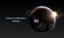 Geneva Conference: Britain