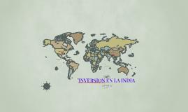 INVERSION EN LA INDIA
