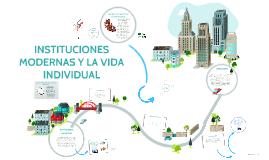 Copy of Copy of INSTITUCIONES MODERNAS Y LA VIDA INDIVIDUAL
