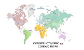 CONSTRUCTIVISMO vs CONDUCTISMO