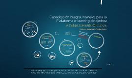Capacitación integral intensiva Atena Chess Online