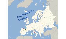 Copy of Conflictos en Europa