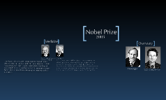 Noble Prize 2003
