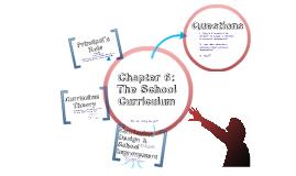 The School Curriculum
