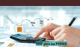 NIIF para las PYMES