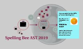 Spelling Bee AST 2019