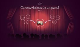Características de un panel