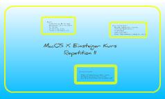 Repetition Mac-Kurs Loreto 2. Abend