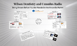 Wilson Dentistry and Cumulus Radio