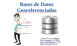 Bases de Datos georeferenciada