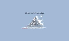 Modernidad y Modernismo