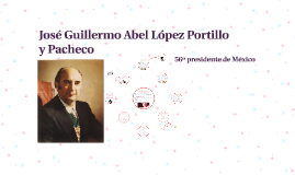 Copy of José Guillermo Abel López Portillo y Pacheco