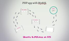 PHP app with MySQL