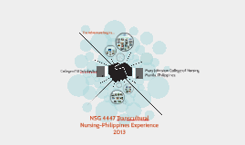 NSG 4447 Transcultural Nursing- Philippines Experience