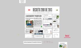 DECRETO 2981 DE 2013
