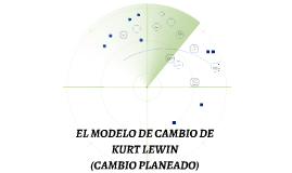 EL MODELO DEL CAMBIO DE KURT LEWIN