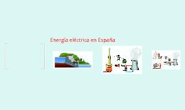 Energía eléctrica en España